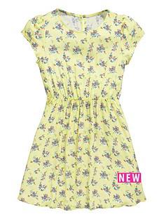 v-by-very-girls-lemon-ditsy-print-dress