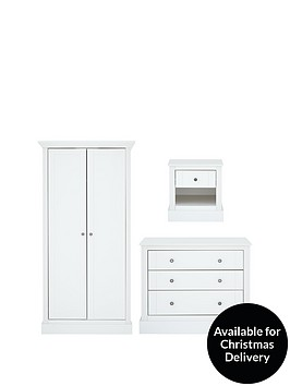 consort-dover-3-piece-ready-assembled-package-2-door-wardrobe-3-drawer-chest-and-1-drawer-bedside-cabinet