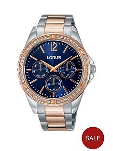 lorus-blue-multinbspdial-two-tone-stainless-steel-bracelet-ladies-watch