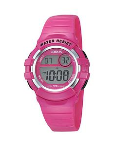 lorus-digi-pink-strap-childrens-watch