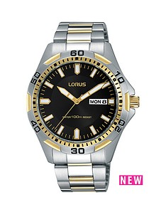 lorus-lorus-grey-multi-dial-rose-tone-case-brown-leather-strap-mens-watch