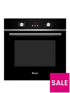 swan-sxb70110b-60cm-built-in-single-electric-fan-oven-black