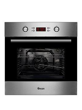 Swan Sxb7070Ss 60Cm Built-In Single Electric Pyrolytic Oven - Stainless Steel thumbnail
