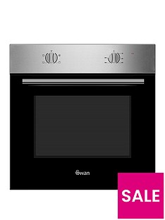 swan-sxb7060ss-60cm-built-in-single-electric-oven-stainless-steel