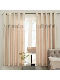 ideal-home-vienna-velvet-panel-geo-lined-eyelet-curtains