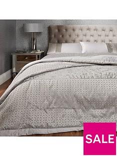 ideal-home-vienna-velvet-panel-geo-bedspread-throw