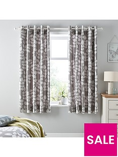 ideal-home-modern-leaves-lined-eyelet-curtains