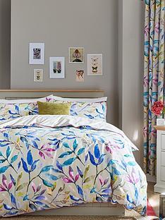 ideal-home-watercolour-leaves-print-duvet-cover-set-ks