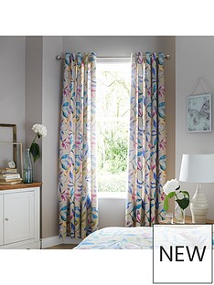 ideal-home-watercolour-leavesnbsp66x90nbspcurtains