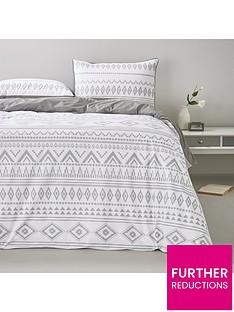monochrome-aztec-duvet-cover-set