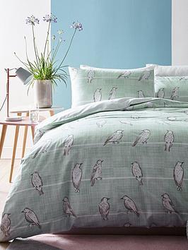ideal-home-bird-print-duvet-cover-set