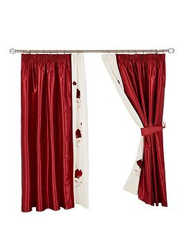 rosanna-lined-pencil-pleat-curtains