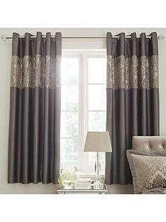 ideal-home-victoria-chenille-damask-eyelet-curtains