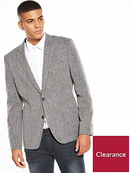 v-by-very-mens-slim-textured-blazer-grey