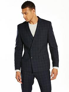 v-by-very-slim-check-double-breasted-jacket