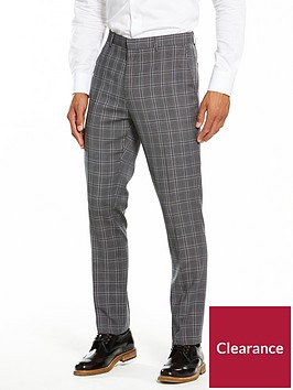 v-by-very-slim-check-trousers-grey