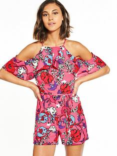 river-island-floral-playsuit
