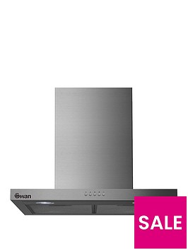 swan-sxb7090ss-60cm-t-box-chimney-hood-with-carbonnbspfilters-stainless-steel