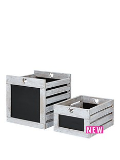 set-of-2-chalkboard-crates