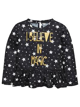 mini-v-by-very-girls-star-amp-foil-slogan-tee