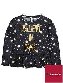 mini-v-by-very-girls-star-amp-foil-slogan-tee