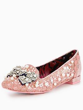 irregular-choice-dew-drops-embellished-flat-pink