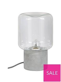 ideal-home-hoxton-concrete-base-table-lamp