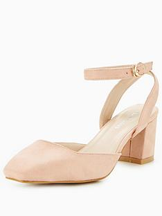 glamorous-two-part-low-heel-court-dusty-pink