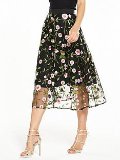 v-by-very-embroidered-full-skirt