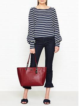 coach-turnlock-chain-tote-bag-dark-red