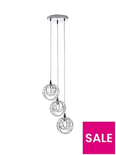 amore-wedding-ring-3-cluster-ceiling-pendant