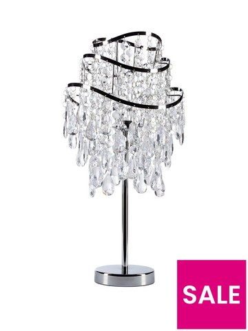 Table Lamps Latest Offers Very, Chandelier Bedside Lamps Uk