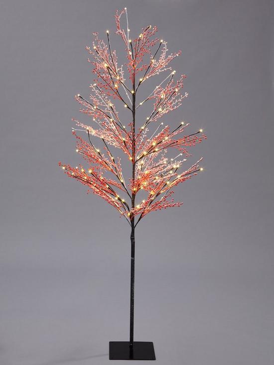 - Outdoor/Indoor Lit Red Berry Twig Christmas Tree (6ft) Very.co.uk