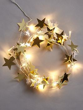 lit-gold-stars-christmas-garland-6ft