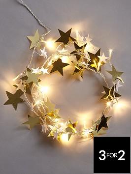 lit-gold-stars-christmas-garland-6ft