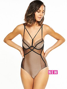 river-island-river-island-strappy-mesh-swimsuit