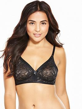 Photo of Playtex ideal beauty lace bra - black