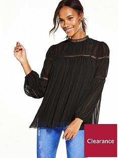max-edition-pleat-detail-blouse