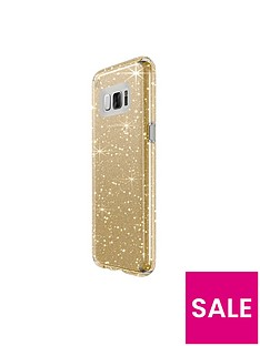 speck-presidio-clear-amp-glitter-case-with-glitter-crystals-for-samsung-galaxy-s8-clear-with-gold-glitterclear