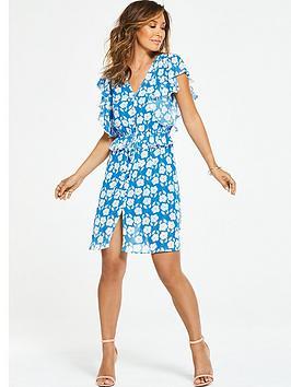 Myleene Klass Ditsy Floral Printed Tea Dress