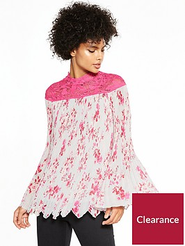 v-by-very-lace-yoke-pleated-blouse