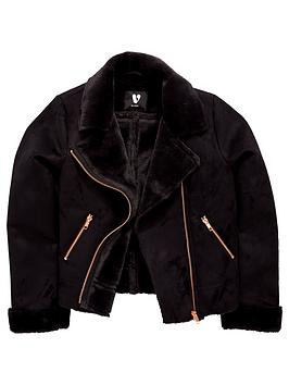 v-by-very-girls-faux-shearling-jacket