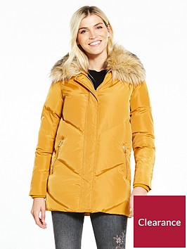 v-by-very-chevron-padded-coat