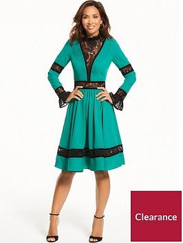 myleene-klass-lace-panel-dress