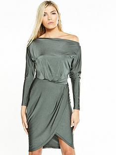 ax-paris-off-shoulder-slinky-dress-khaki