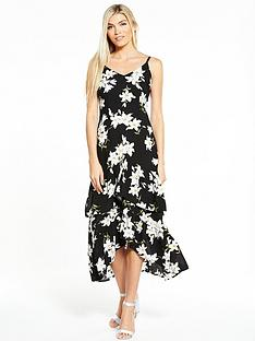 ax-paris-frill-front-maxi-dress