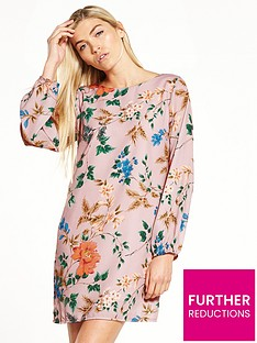 little-mistress-floral-shift-dress
