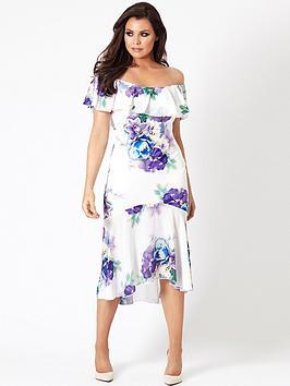 Jessica Wright Della Midi Dress