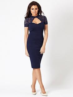 jessica-wright-cecily-keyhole-midi-dress
