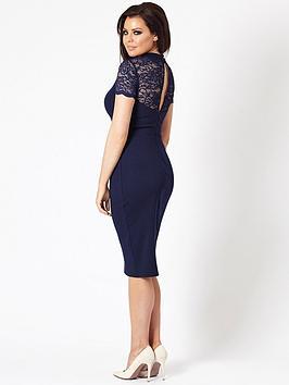 jessica-wright-cecily-keyhole-midi-dress